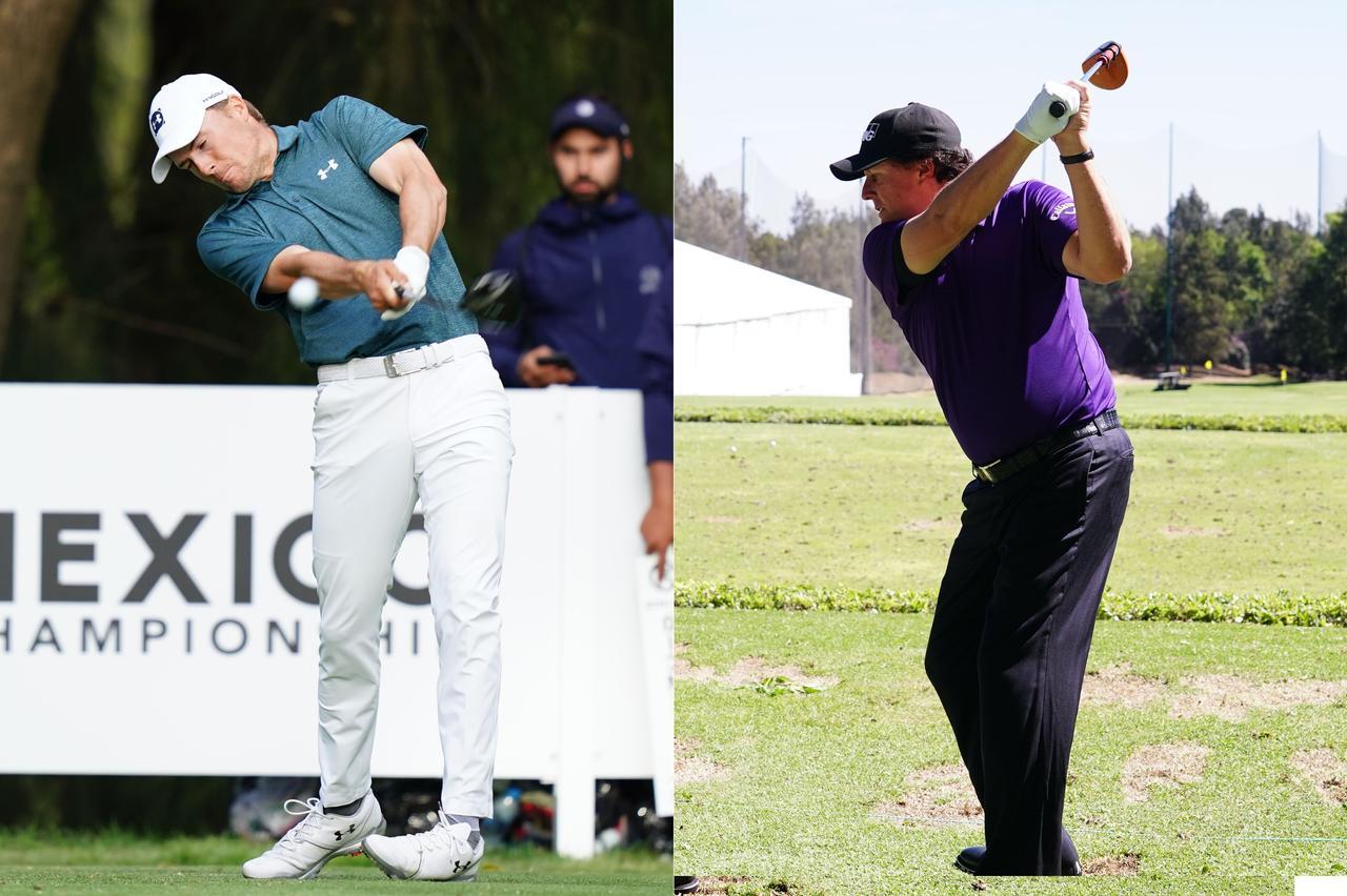 画像: スピース(左)もミケルソン(右)もフィジカルを意識したトレーニングに取り組んでいる