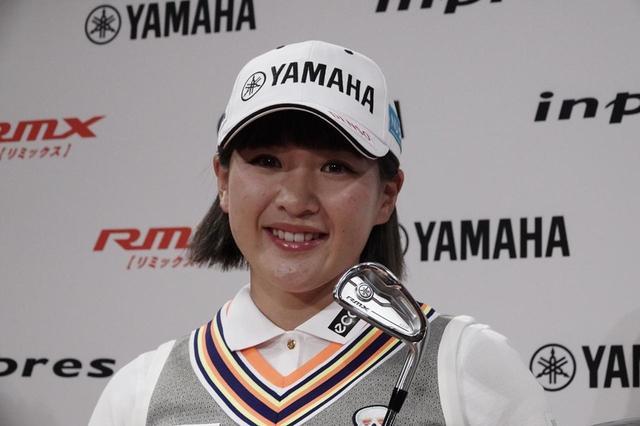 画像: 永井はヤマハのアイアンが気に入ったようだ