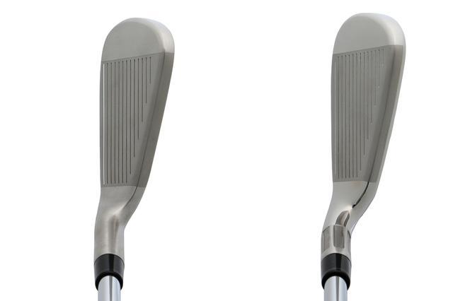 画像: M5(左)とM6(右)の見た目。スッキリした見た目のM5に対し、M6はグースネックの度合いが強く、見た目からつかまりの良さを感じ取れる