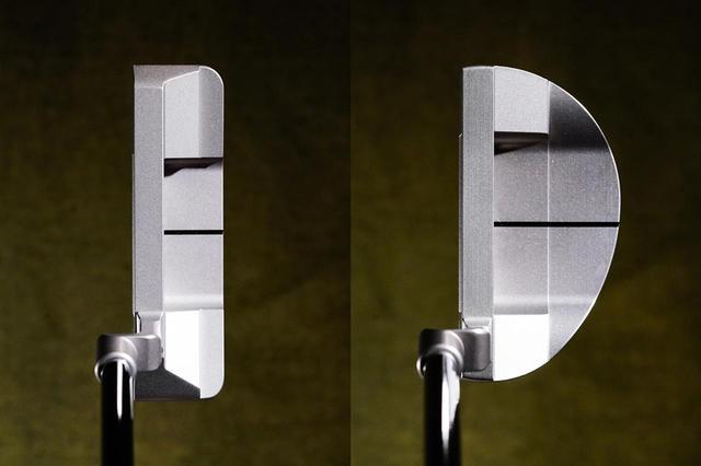 画像: デシャンボーが使用するブレードタイプの『PRO(左)』、マレットタイプ『SHO(右)』があり、両タイプともにクランクネックとスラントネックがある