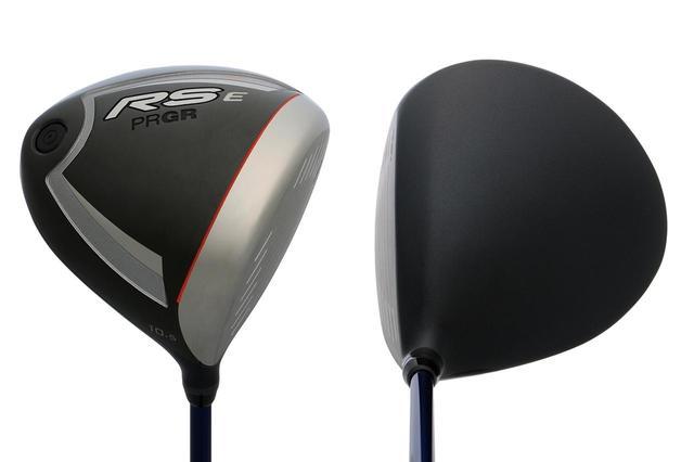 画像: プロギア「RS E」(10.5度)。重心角34度と、つかまりを重視した設計のドライバー