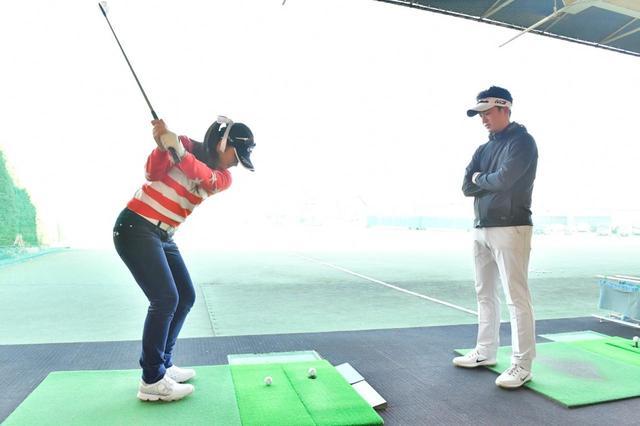 """画像: スウィングは変えず""""1モーション""""ゴルフができるという"""