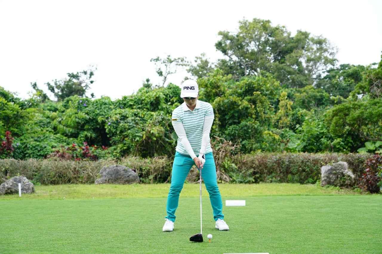 Images : 1番目の画像 - 比嘉真美子のドライバー連続写真 - みんなのゴルフダイジェスト