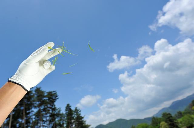 画像: 風の日のゴルフで気をつけるべきことは……?(撮影/増田保雄)
