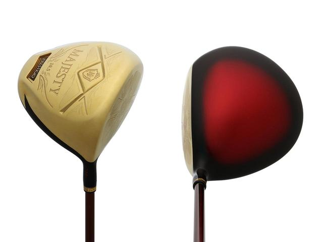 画像: マジェスティ ゴルフ「マジェスティ プレステジオ テン」ドライバー(10.5度)。工芸品のように美しい見た目で、お値段はなんと23万円(税別)