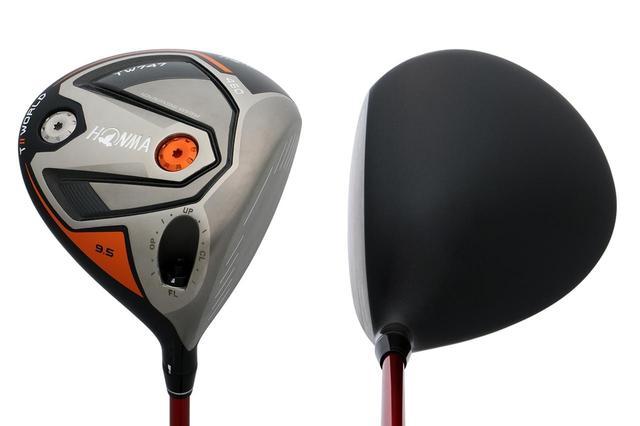 画像: 本間ゴルフ「TW747 460」ドライバー(9.5度)。ローズはこれにホンマのシャフト「VIZARD FD-7XX」を挿して使用している