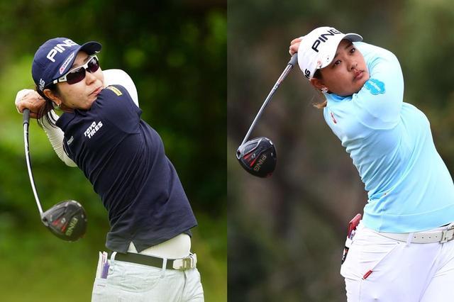 画像: LPGAツアーはG410シリーズのウッドにチェンジしたピン勢が開幕2連勝(左:比嘉真美子、右:鈴木愛)