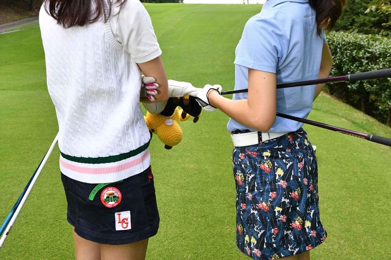 画像: ウェアのカラー縛りはゴルフ女子ならではの楽しみ方だ(写真/増田保雄)