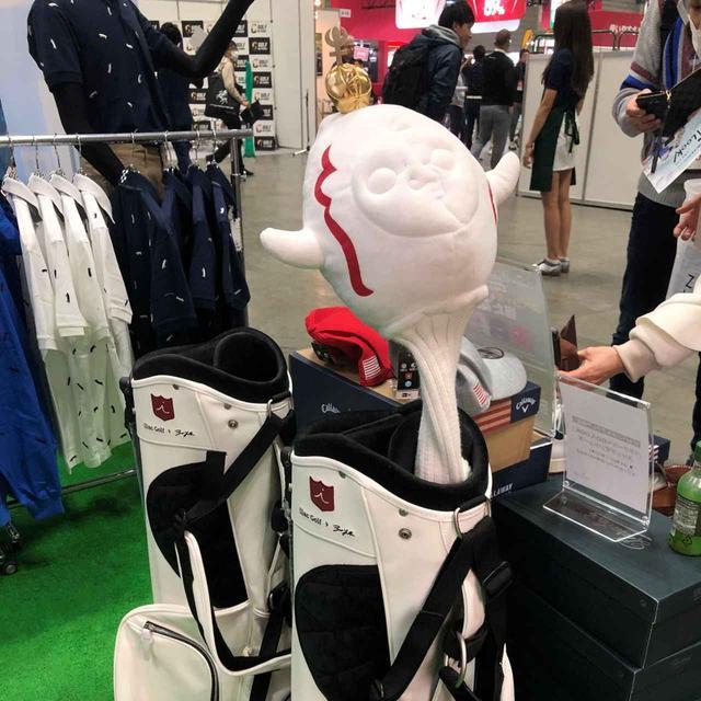 画像: 発売はこれからだが『太陽の塔』のヘッドカバーはゴルファーの中で人気がでそうなアイテムのひとつだ