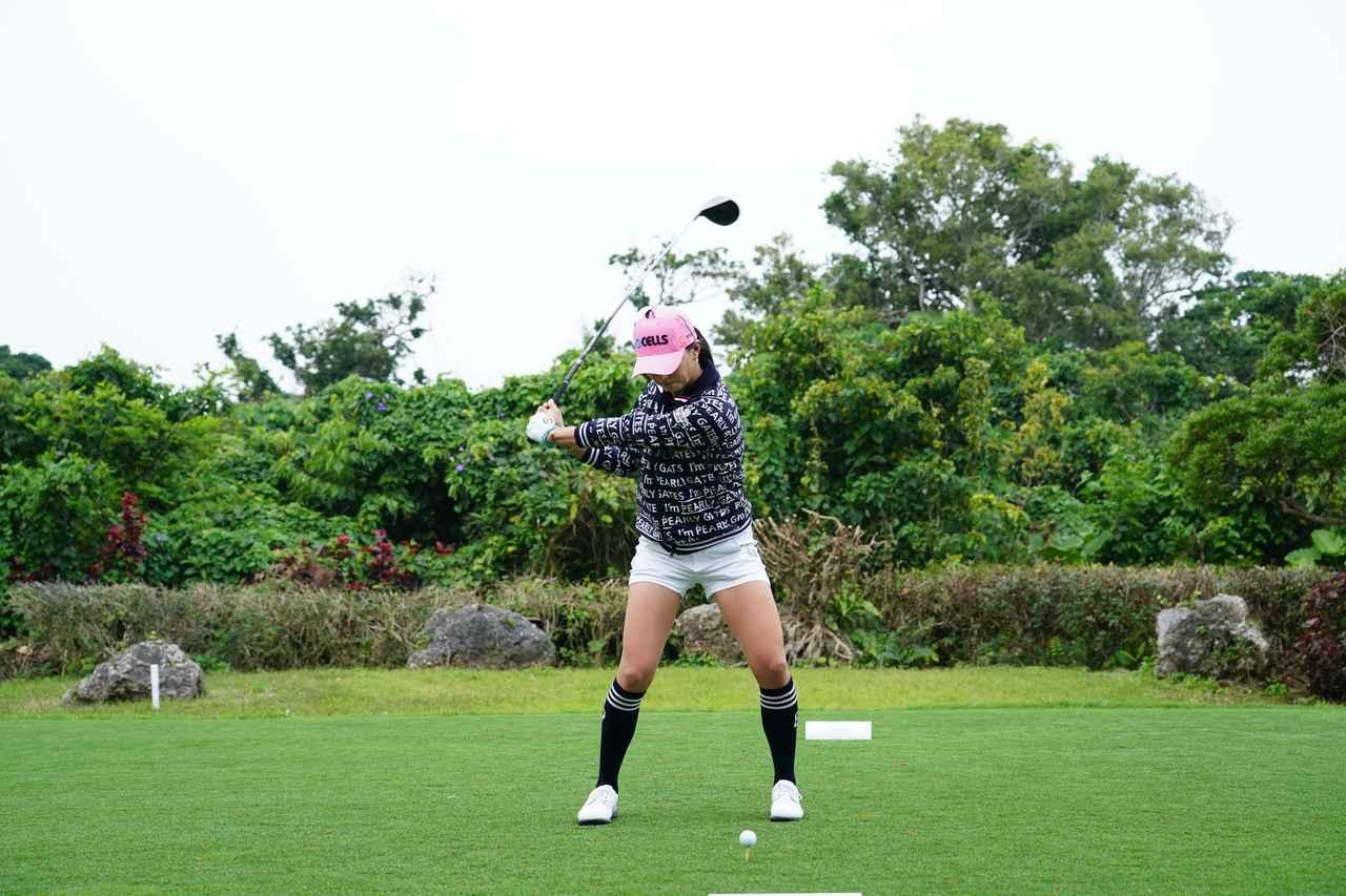 Images : 8番目の画像 - ユン・チェヨンのドライバー連続写真 - みんなのゴルフダイジェスト