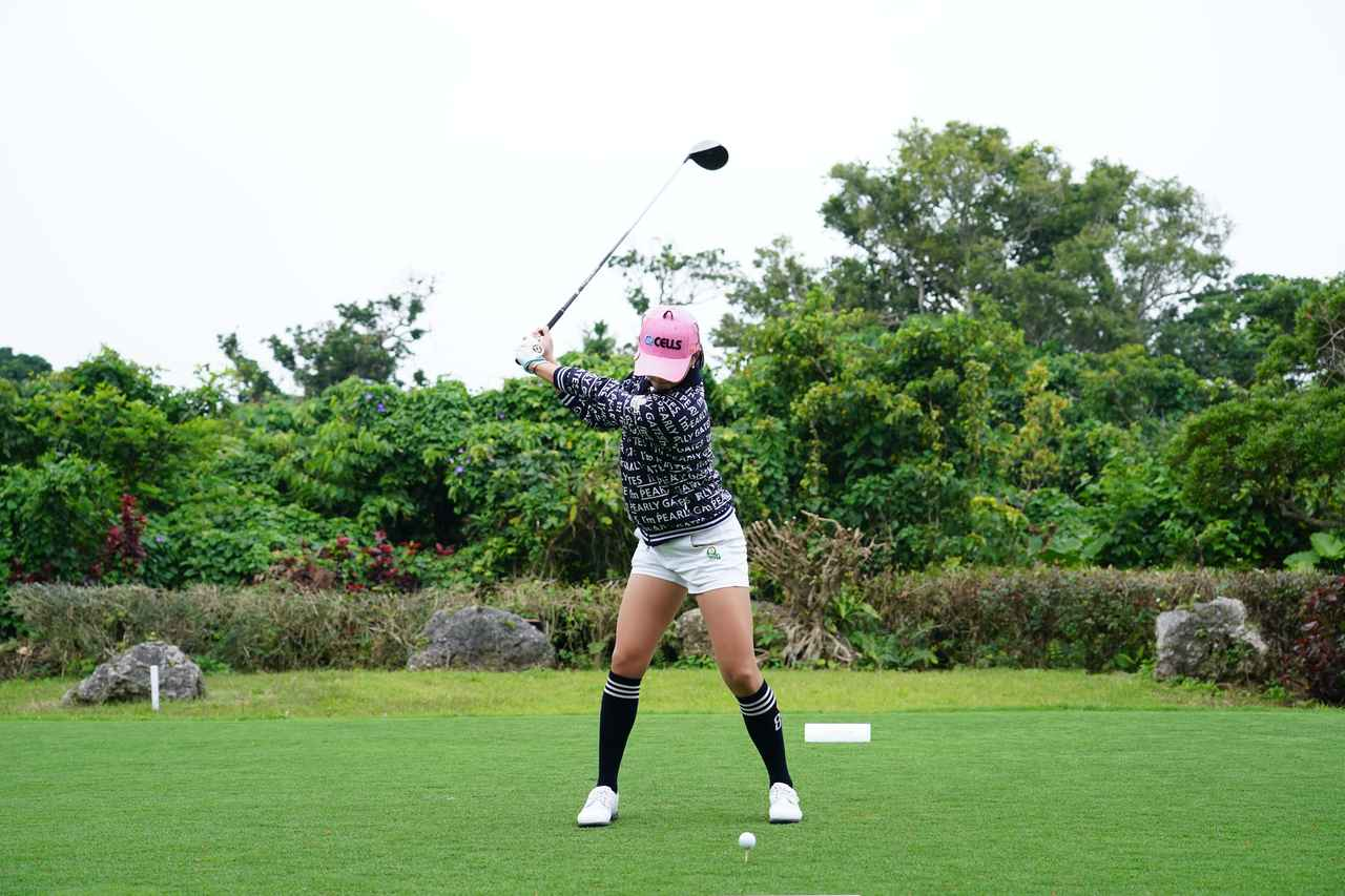 Images : 4番目の画像 - ユン・チェヨンのドライバー連続写真 - みんなのゴルフダイジェスト