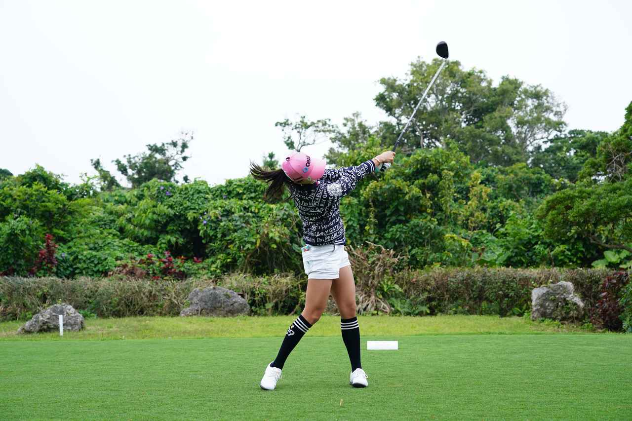 Images : 13番目の画像 - ユン・チェヨンのドライバー連続写真 - みんなのゴルフダイジェスト
