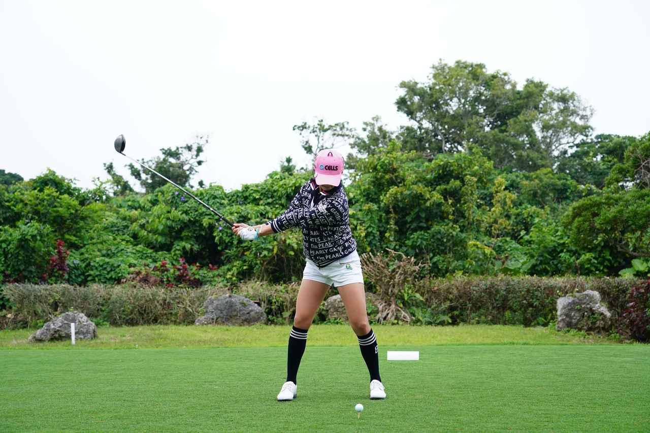 Images : 3番目の画像 - ユン・チェヨンのドライバー連続写真 - みんなのゴルフダイジェスト