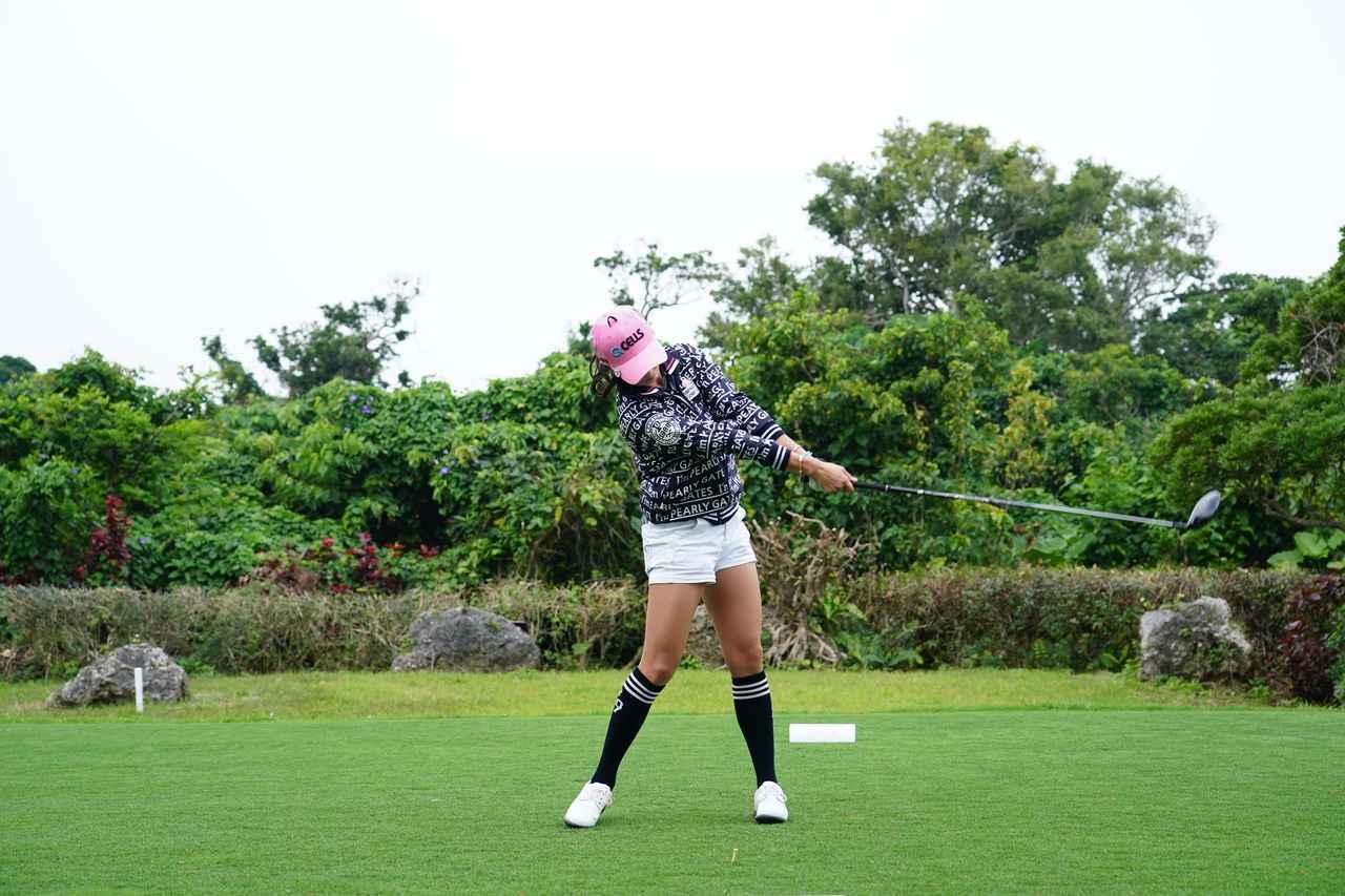 Images : 12番目の画像 - ユン・チェヨンのドライバー連続写真 - みんなのゴルフダイジェスト