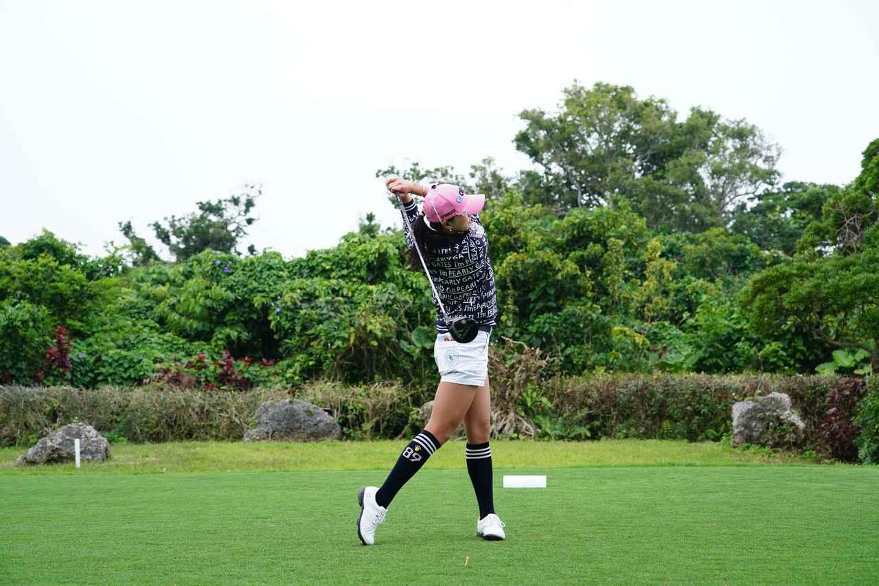 Images : 15番目の画像 - ユン・チェヨンのドライバー連続写真 - みんなのゴルフダイジェスト
