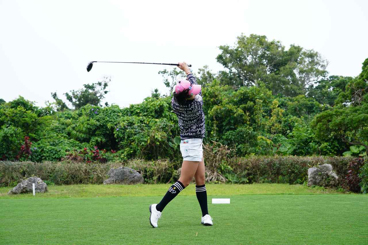 Images : 14番目の画像 - ユン・チェヨンのドライバー連続写真 - みんなのゴルフダイジェスト