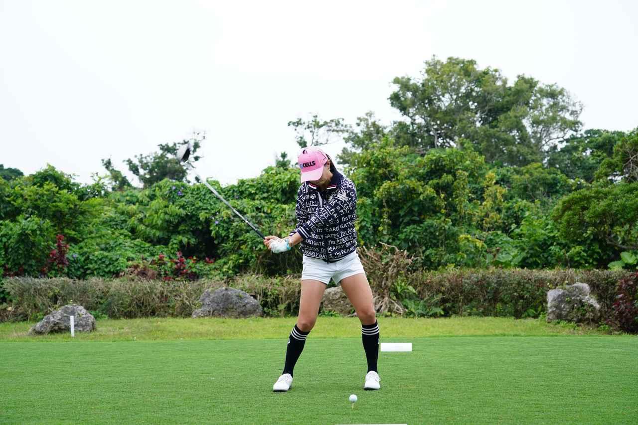 Images : 9番目の画像 - ユン・チェヨンのドライバー連続写真 - みんなのゴルフダイジェスト