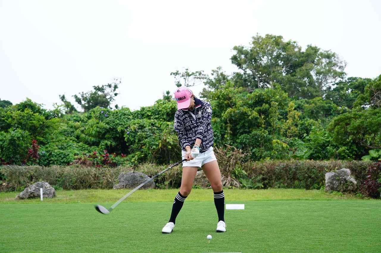 Images : 10番目の画像 - ユン・チェヨンのドライバー連続写真 - みんなのゴルフダイジェスト