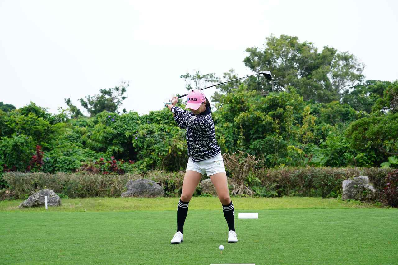 Images : 7番目の画像 - ユン・チェヨンのドライバー連続写真 - みんなのゴルフダイジェスト