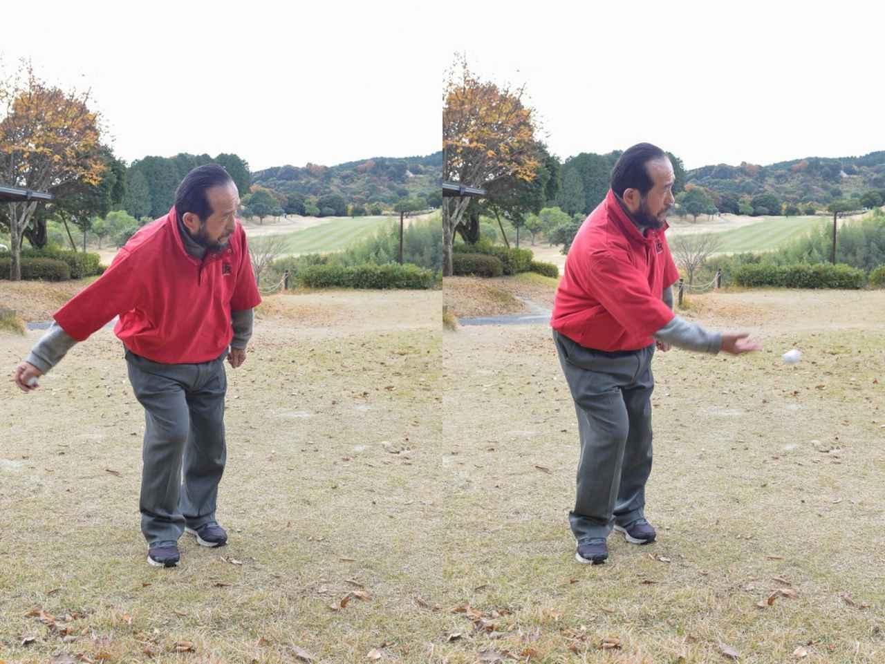 """画像: テンフィンガーなら右手を使うので下手投げの要領でボールは簡単に上がる。""""ロブショット""""も打てるようになる"""