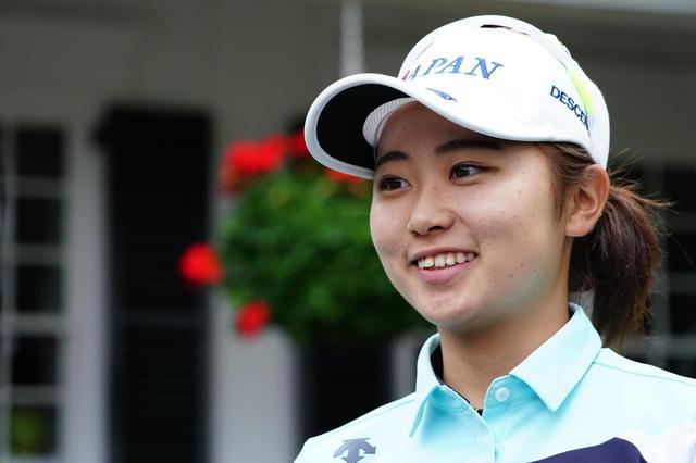 画像: 現在大手前大学1年生の安田祐香。初開催のオーガスタ女子アマで3位タイと結果を出した