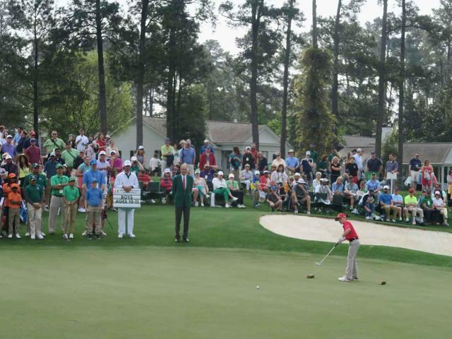 画像: 日曜にはジュニアゴルファーの大会、ドライブ・チップ&パットが行われた