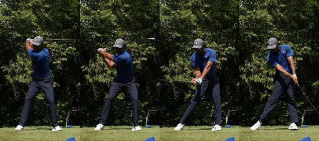 画像: タイガー・ウッズもダウンスウィングは足・腰→胸→腕→クラブの順番で動いている(写真は2018年の全米プロゴルフ選手権 撮影/姉崎正)
