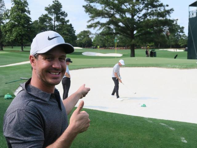 画像: デシャンボーが歴代王者にバンカーレッスン⁉︎ マスターズ「前の週末」レポート - みんなのゴルフダイジェスト