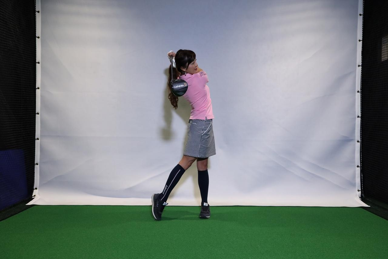Images : 7番目の画像 - 小澤美奈瀬が実演! 左つま先チョイ閉じスウィング連続写真 - みんなのゴルフダイジェスト