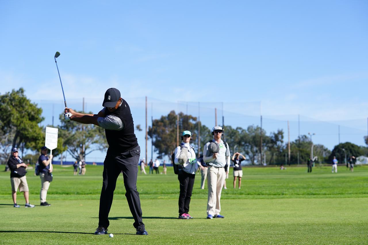 Images : 5番目の画像 - マスターズ5勝目!タイガー・ウッズのアイアン連続写真 - みんなのゴルフダイジェスト