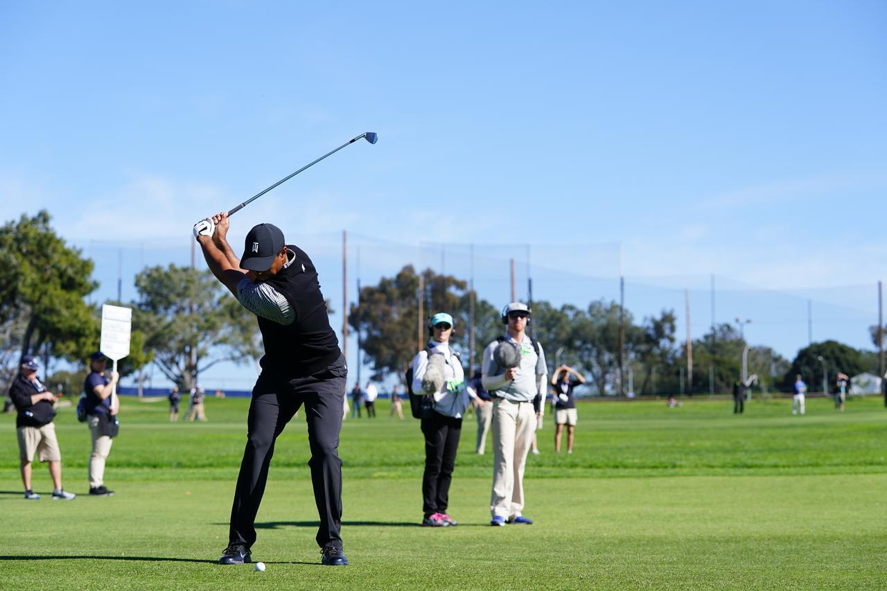Images : 9番目の画像 - マスターズ5勝目!タイガー・ウッズのアイアン連続写真 - みんなのゴルフダイジェスト