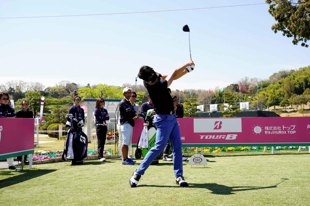 Images : 14番目の画像 - 飛ばし屋!額賀辰徳のドライバー連続写真 - みんなのゴルフダイジェスト