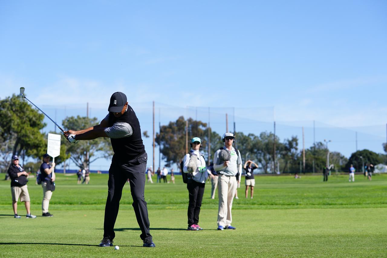 Images : 4番目の画像 - マスターズ5勝目!タイガー・ウッズのアイアン連続写真 - みんなのゴルフダイジェスト
