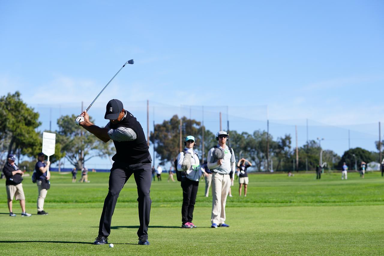Images : 10番目の画像 - マスターズ5勝目!タイガー・ウッズのアイアン連続写真 - みんなのゴルフダイジェスト
