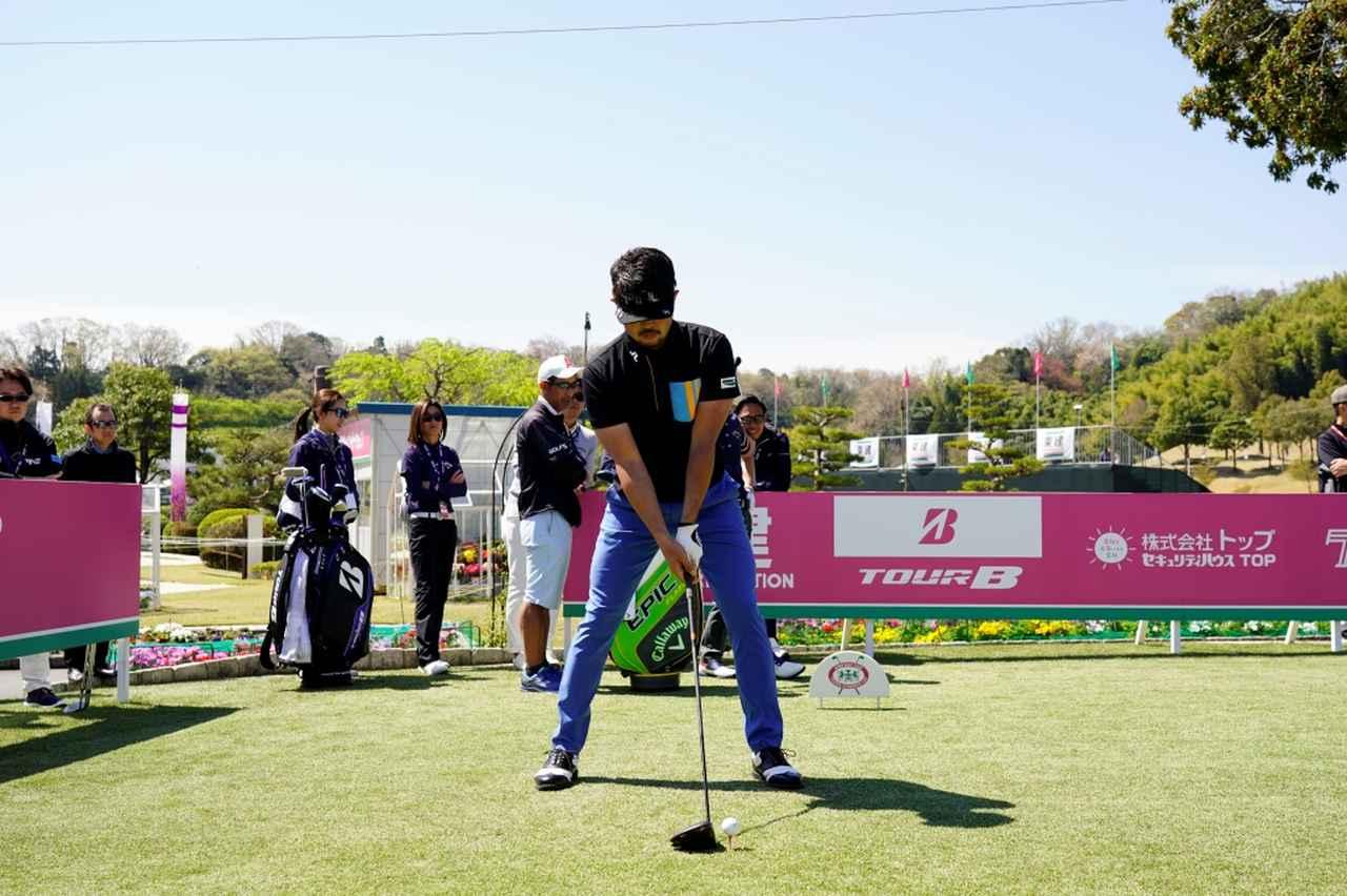 Images : 1番目の画像 - 飛ばし屋!額賀辰徳のドライバー連続写真 - みんなのゴルフダイジェスト