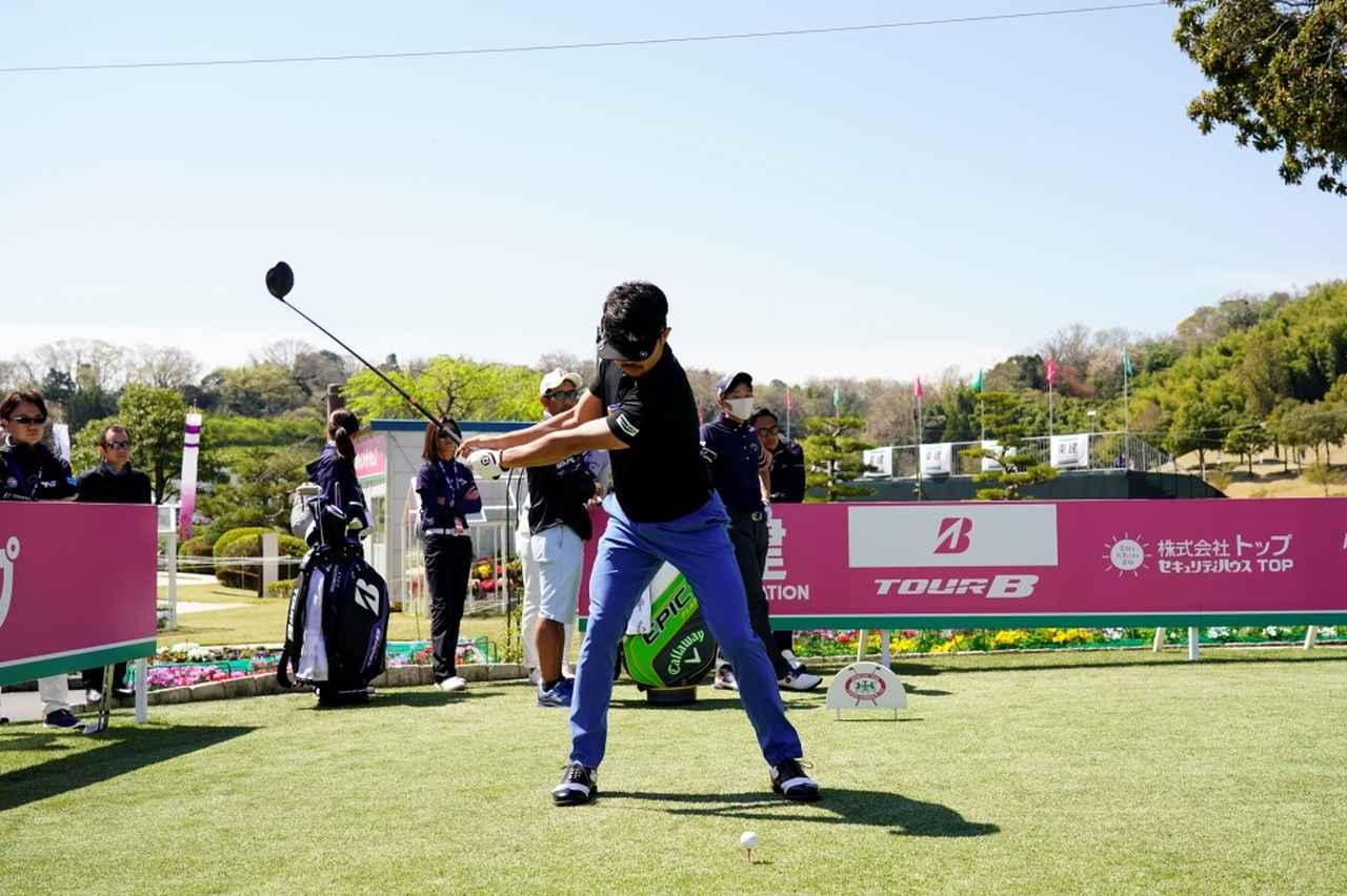 Images : 2番目の画像 - 飛ばし屋!額賀辰徳のドライバー連続写真 - みんなのゴルフダイジェスト