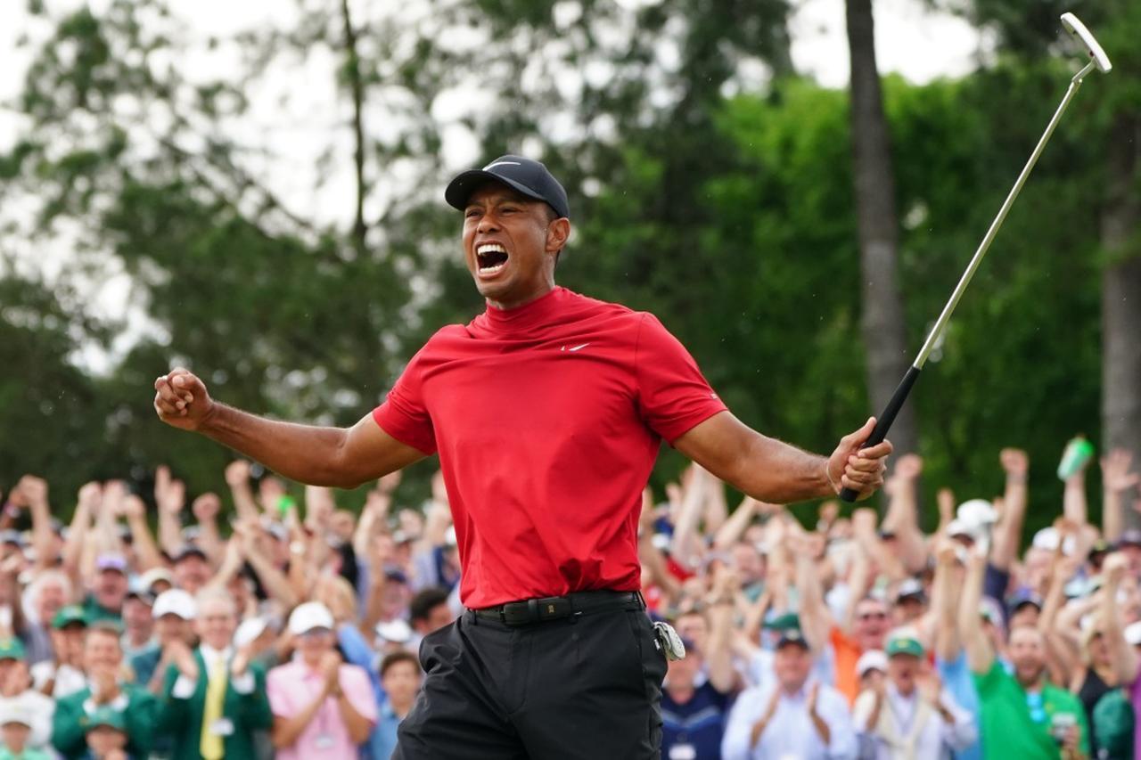 """画像: わずか4年前、タイガーは練習場でシャンクを連発していた。「空白の11年」を乗り越えてつかんだ""""変化と成長"""" - みんなのゴルフダイジェスト"""