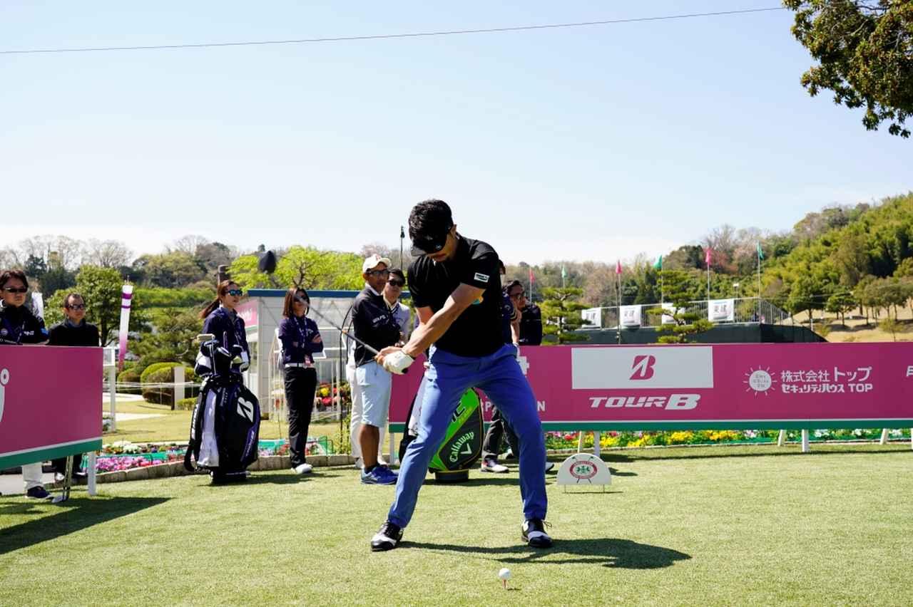 Images : 10番目の画像 - 飛ばし屋!額賀辰徳のドライバー連続写真 - みんなのゴルフダイジェスト