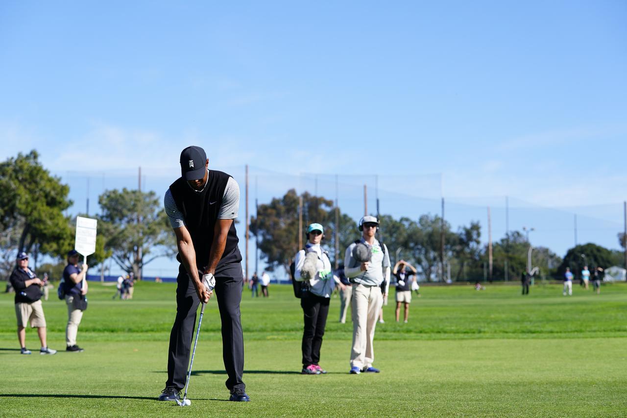 Images : 1番目の画像 - マスターズ5勝目!タイガー・ウッズのアイアン連続写真 - みんなのゴルフダイジェスト