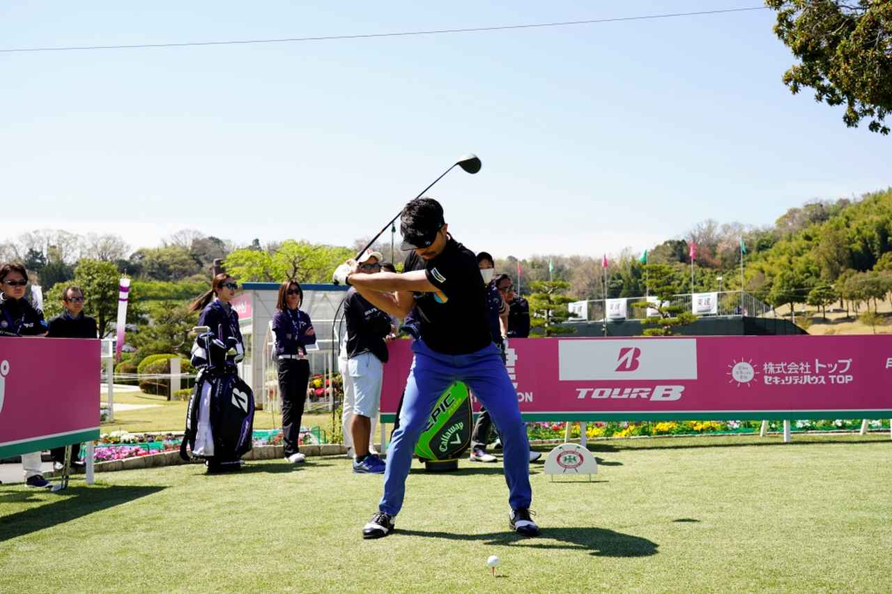 Images : 9番目の画像 - 飛ばし屋!額賀辰徳のドライバー連続写真 - みんなのゴルフダイジェスト