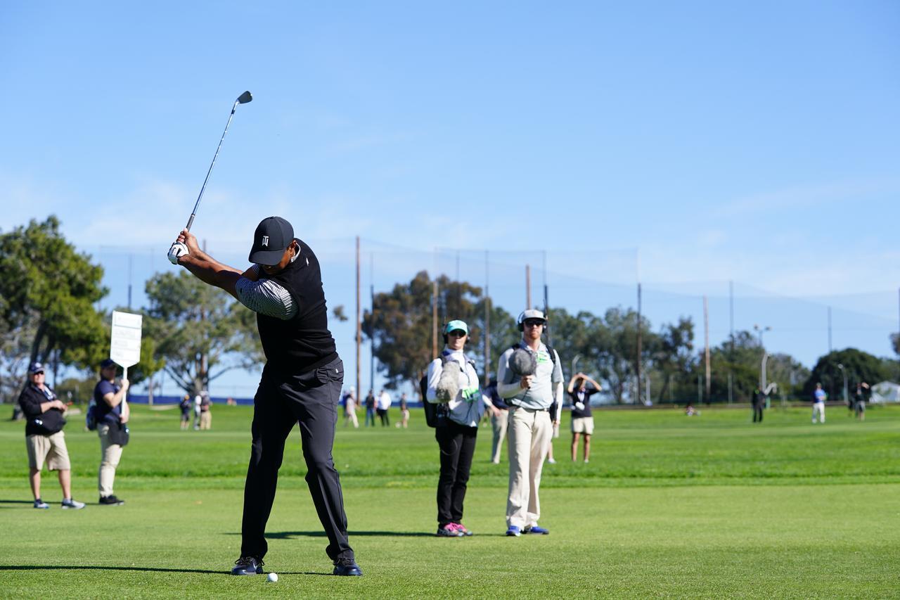 Images : 6番目の画像 - マスターズ5勝目!タイガー・ウッズのアイアン連続写真 - みんなのゴルフダイジェスト