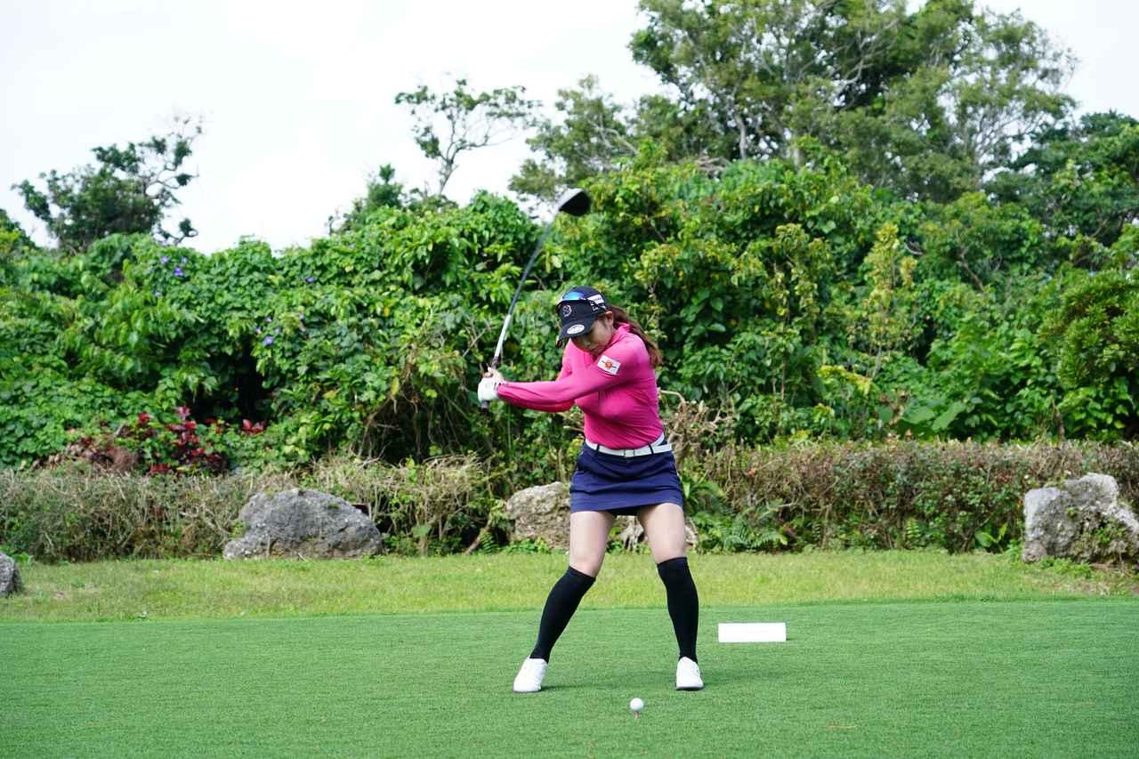 Images : 7番目の画像 - 熊谷かほのドライバー連続写真 - みんなのゴルフダイジェスト
