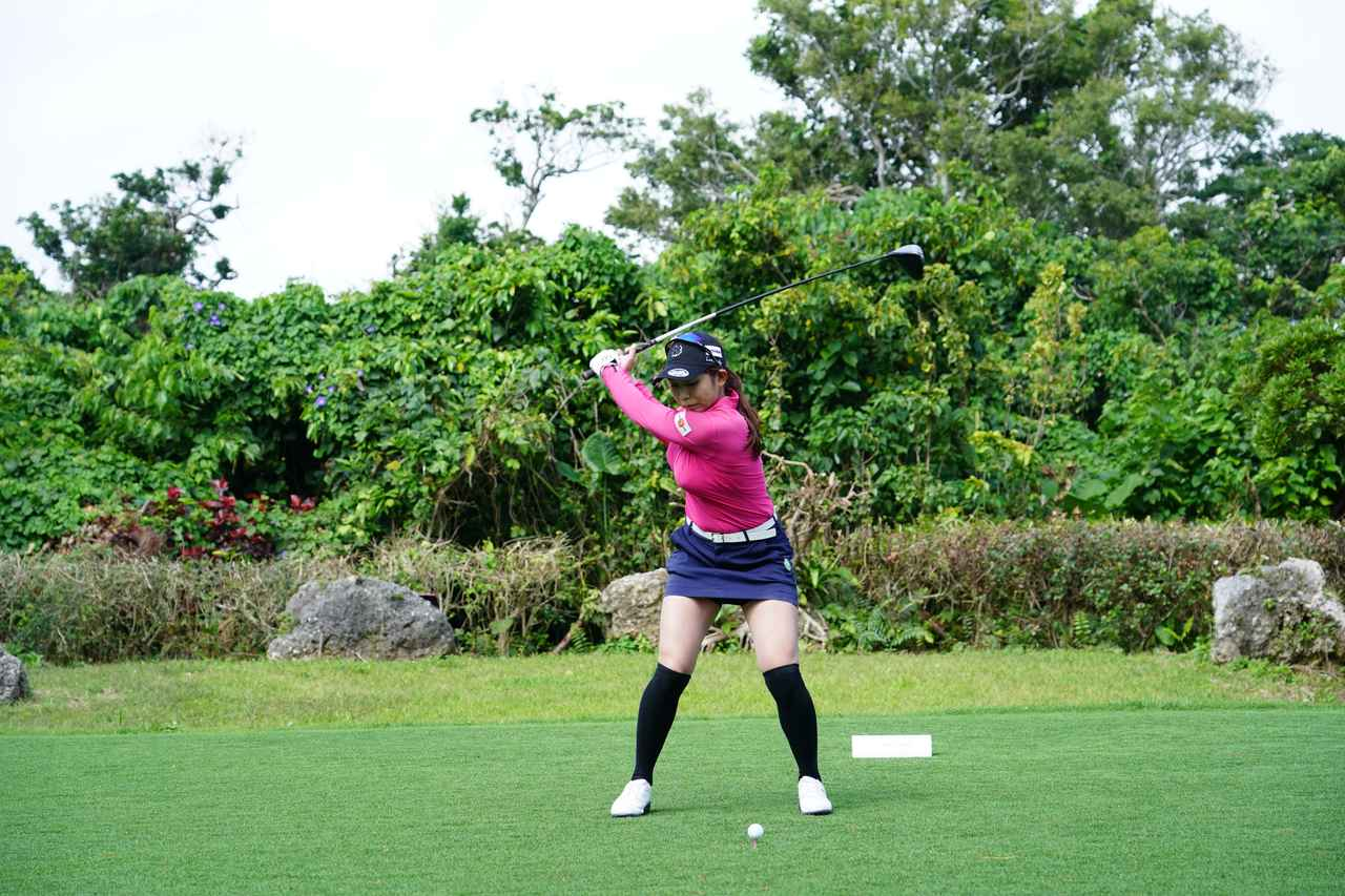 Images : 6番目の画像 - 熊谷かほのドライバー連続写真 - みんなのゴルフダイジェスト