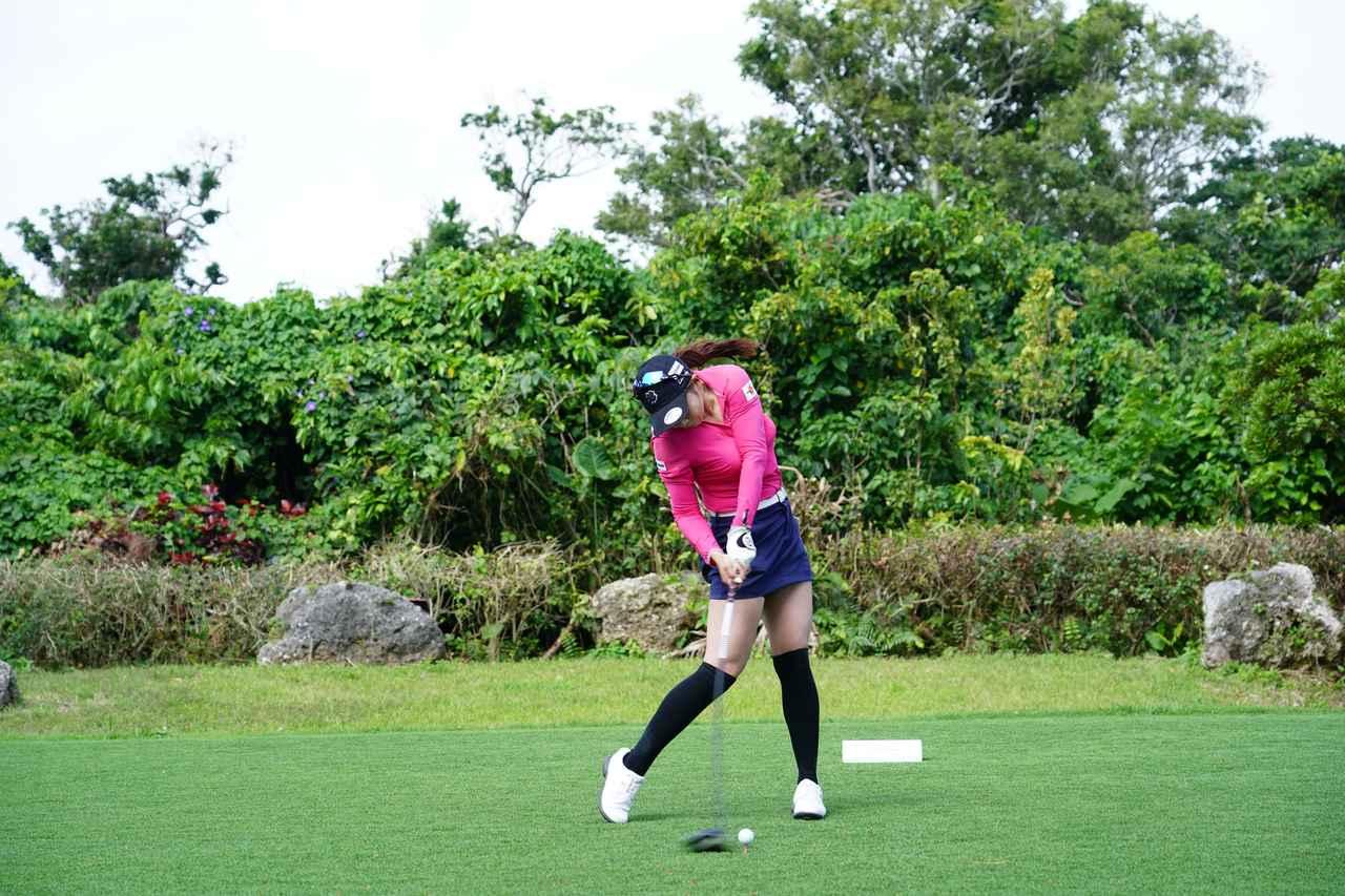 Images : 9番目の画像 - 熊谷かほのドライバー連続写真 - みんなのゴルフダイジェスト