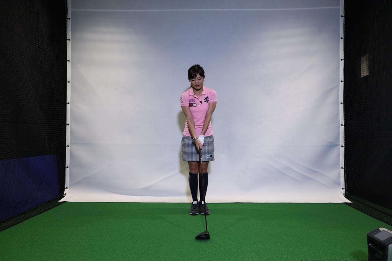 Images : 1番目の画像 - 小澤美奈瀬が実演! 両足ぴったんこスウィング連続写真 - みんなのゴルフダイジェスト