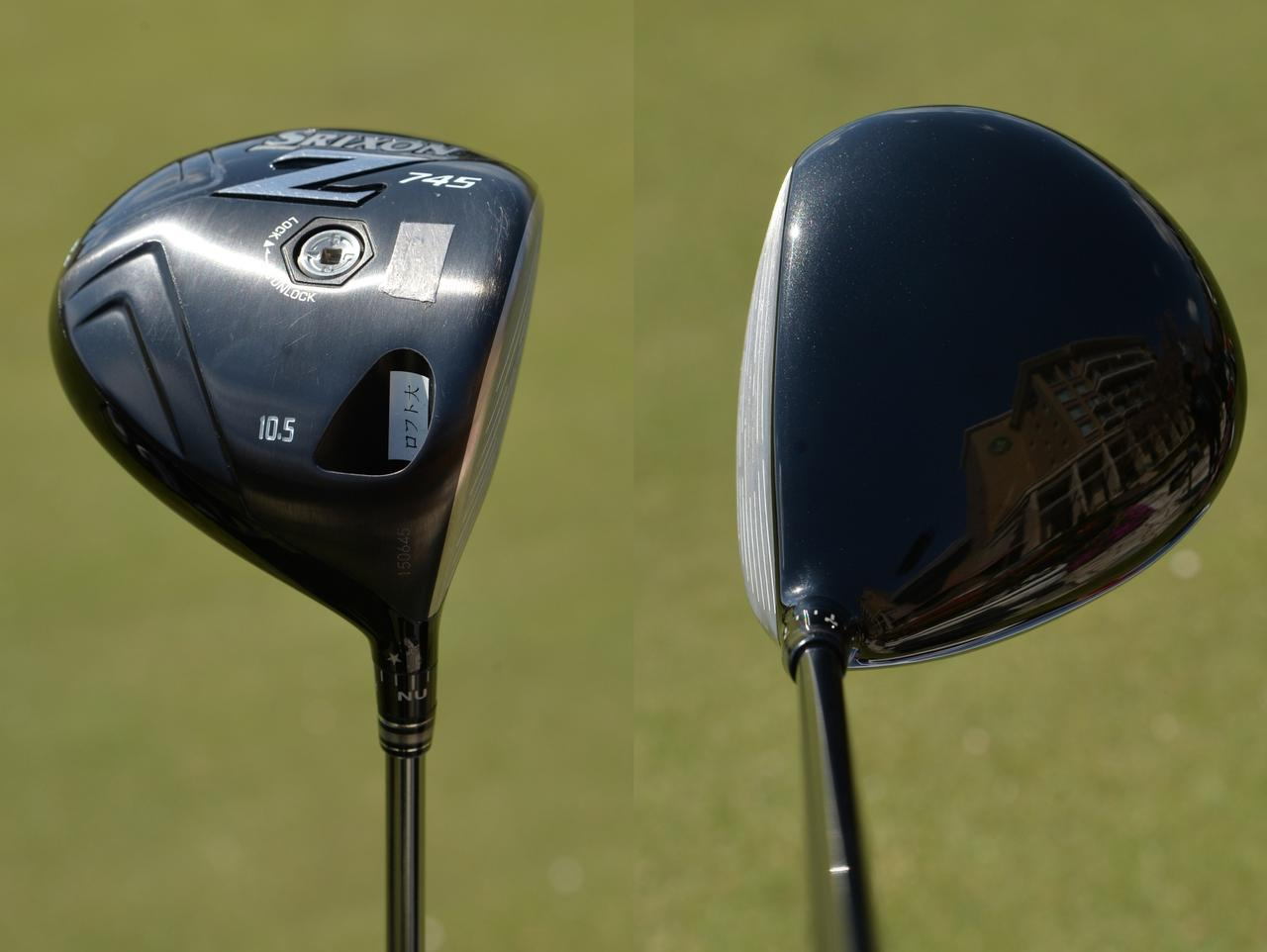 画像: スリクソンZ945。左右への打ち分け、球の高低の打ち分けなど、コントロール性を気に入っている