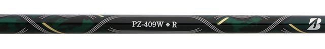 画像: 「PZ-409W」(Rフレックス)シャフトは49グラムと軽量