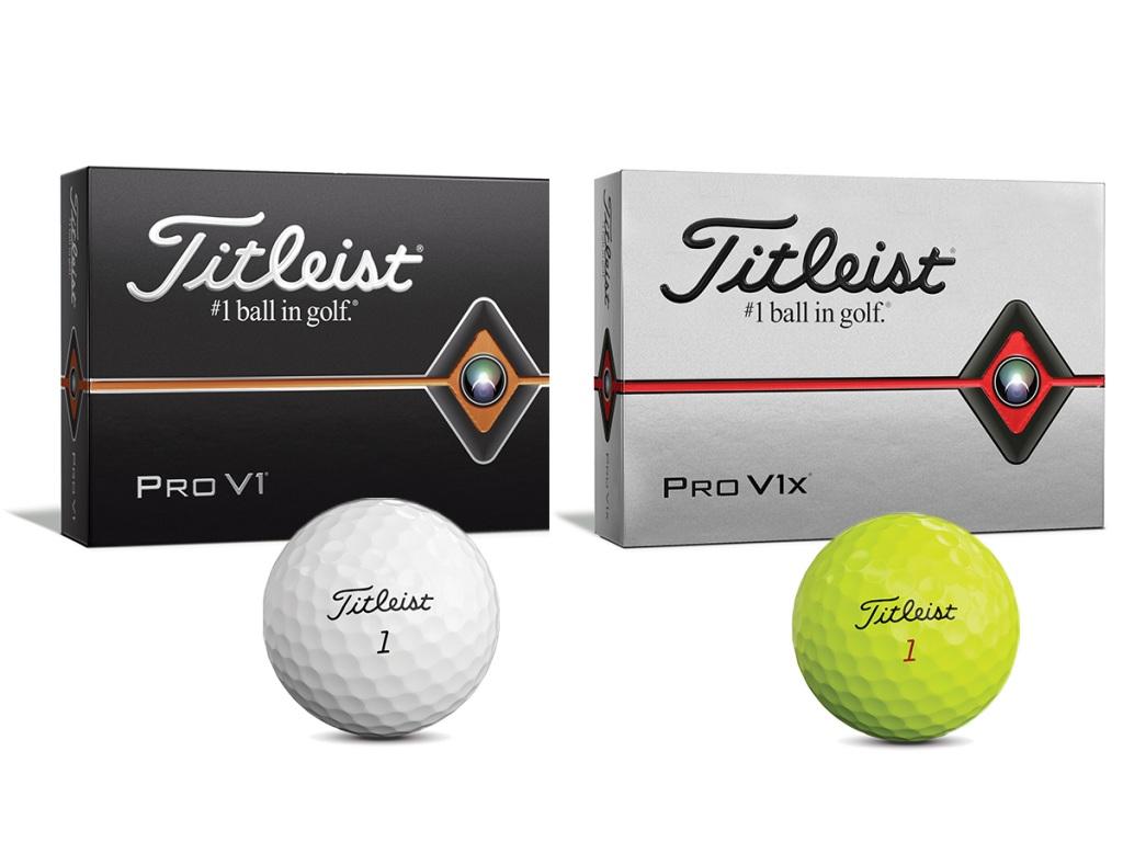 画像: 今年販売された10代目『プロ V1/V1x』。イエローのカラーボールもラインナップに加わった