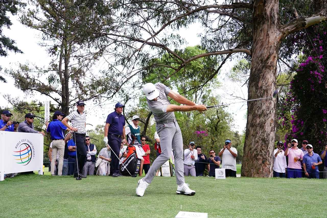 Images : 13番目の画像 - PGAツアー屈指の飛ばし屋! ダスティン・ジョンソンのドライバー連続写真 - みんなのゴルフダイジェスト