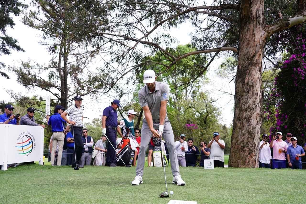 Images : 1番目の画像 - PGAツアー屈指の飛ばし屋! ダスティン・ジョンソンのドライバー連続写真 - みんなのゴルフダイジェスト